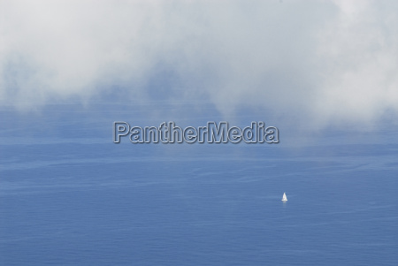 white, clouds, over, sailboat, in, the - 615144