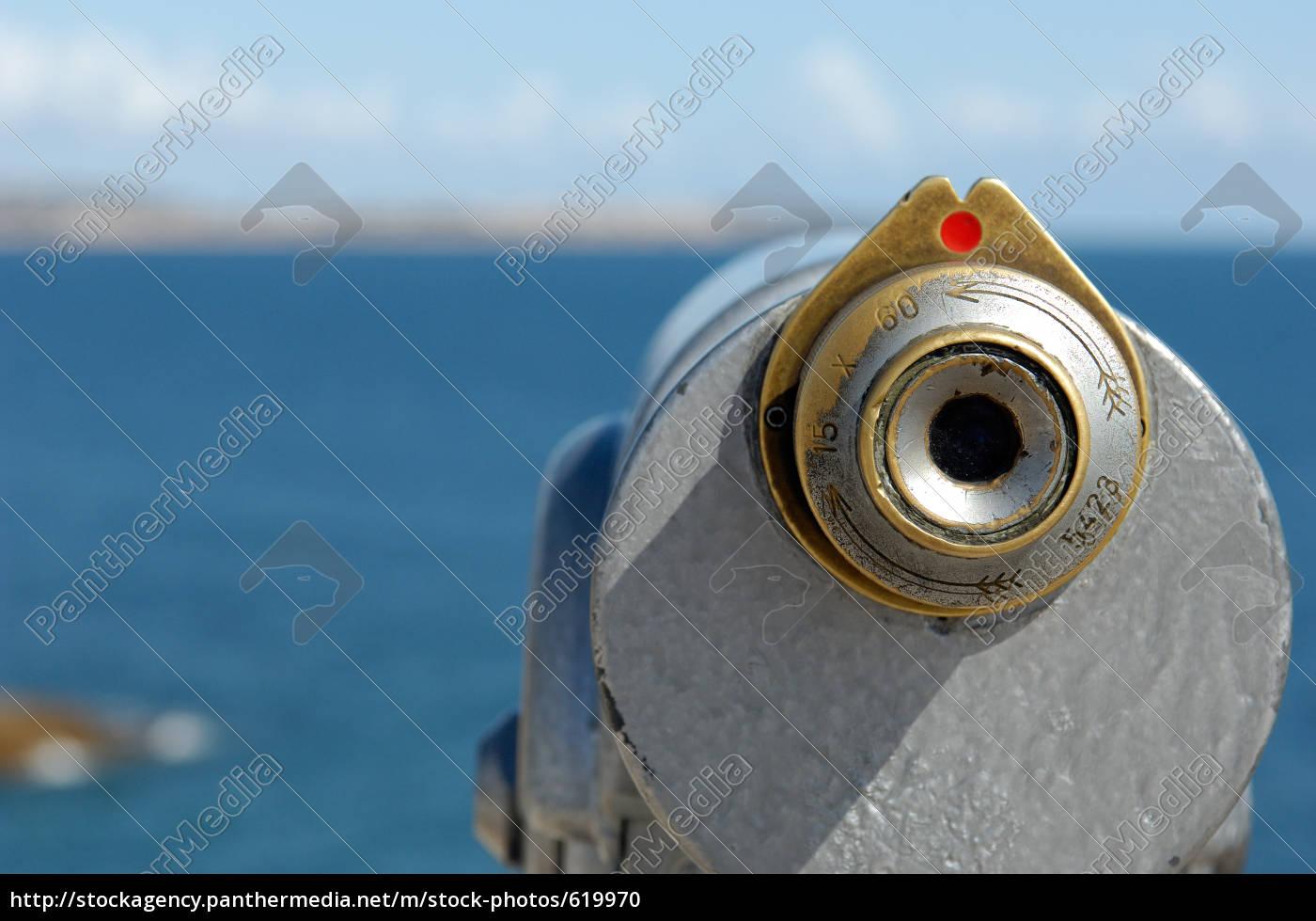 telescope, at, sea, coast - 619970