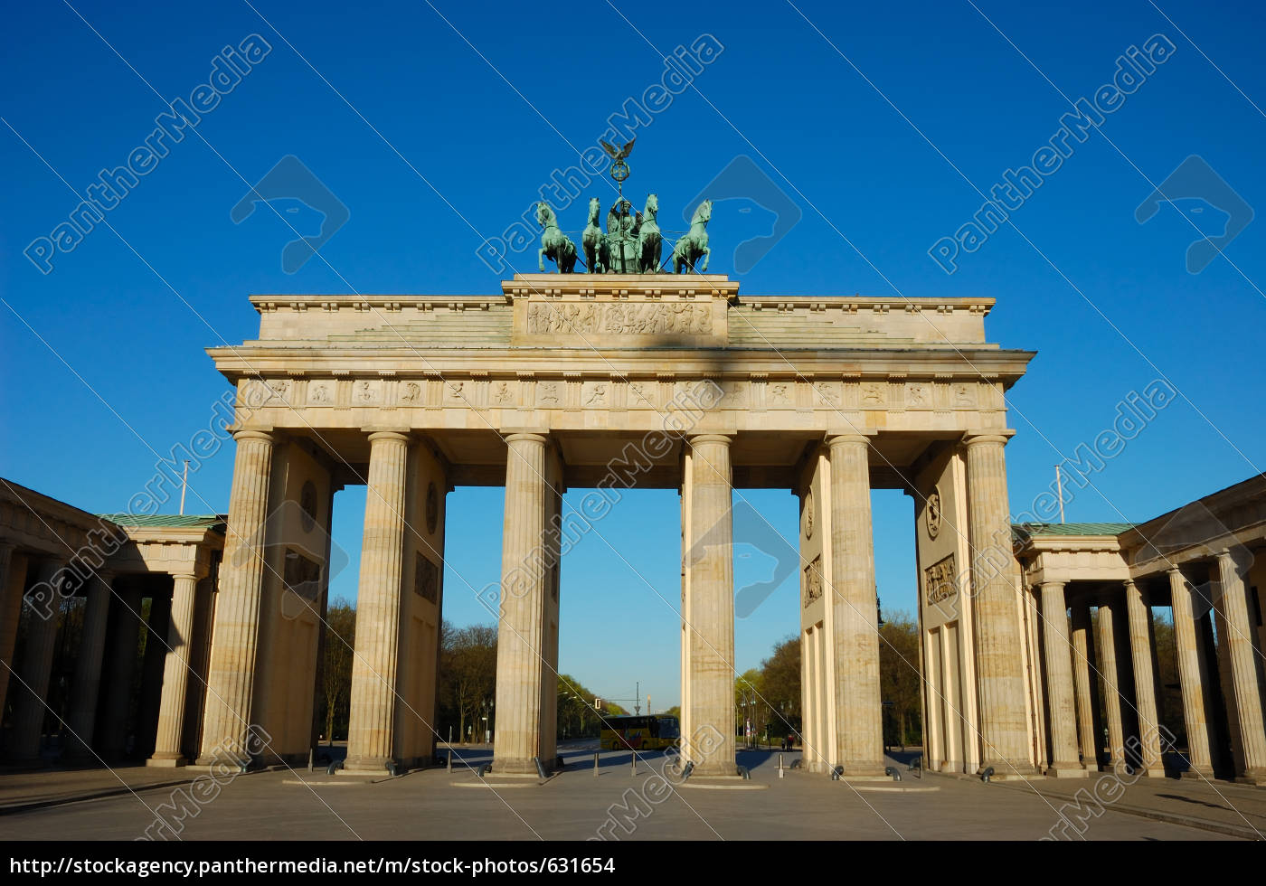 brandenburg, gate, in, berlin - 631654