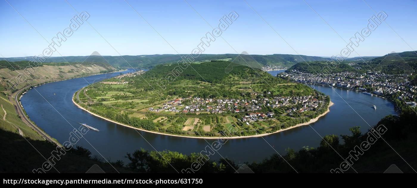 rheinschleife, near, boppard - 631750