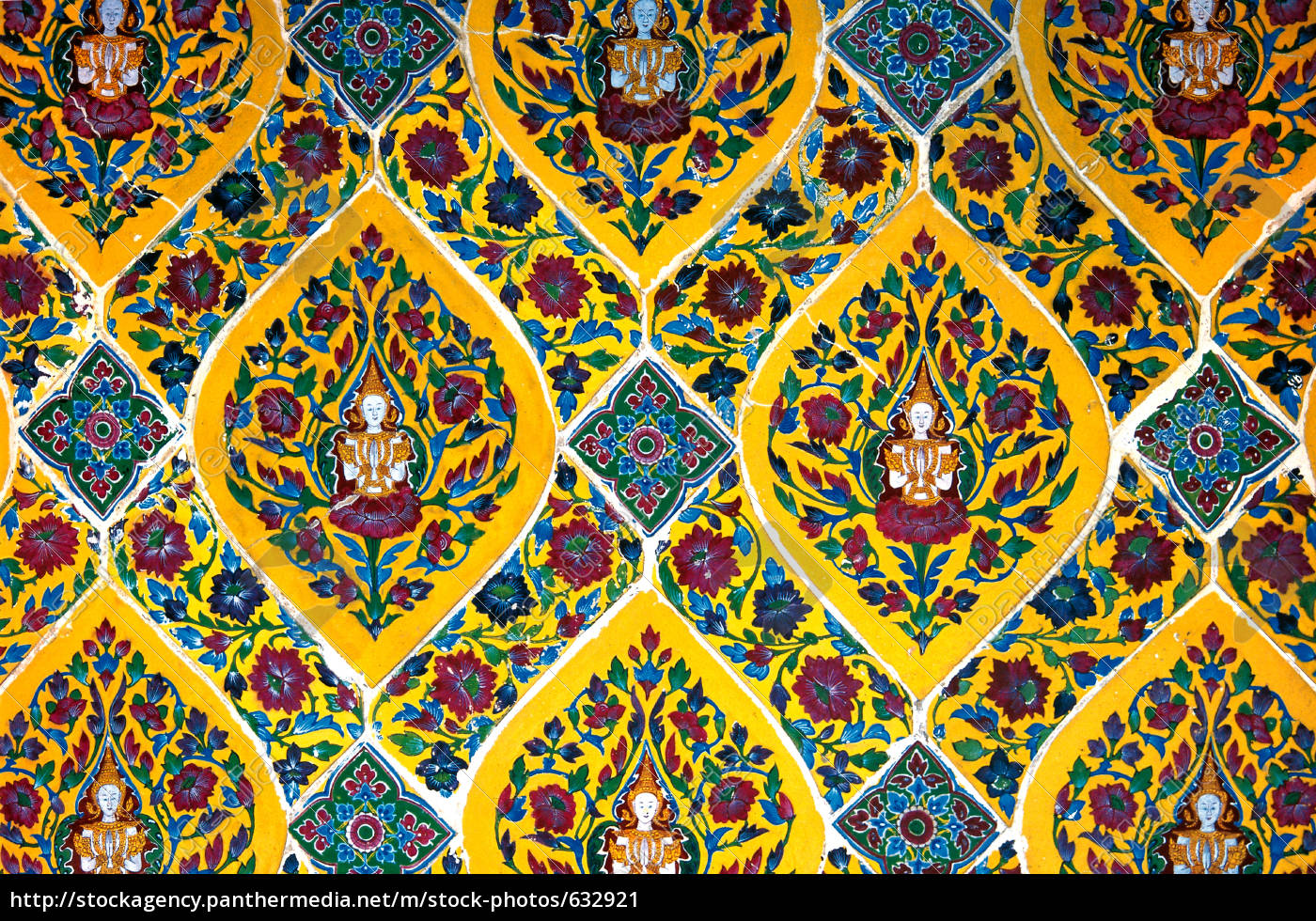 buddha, tiles - 632921