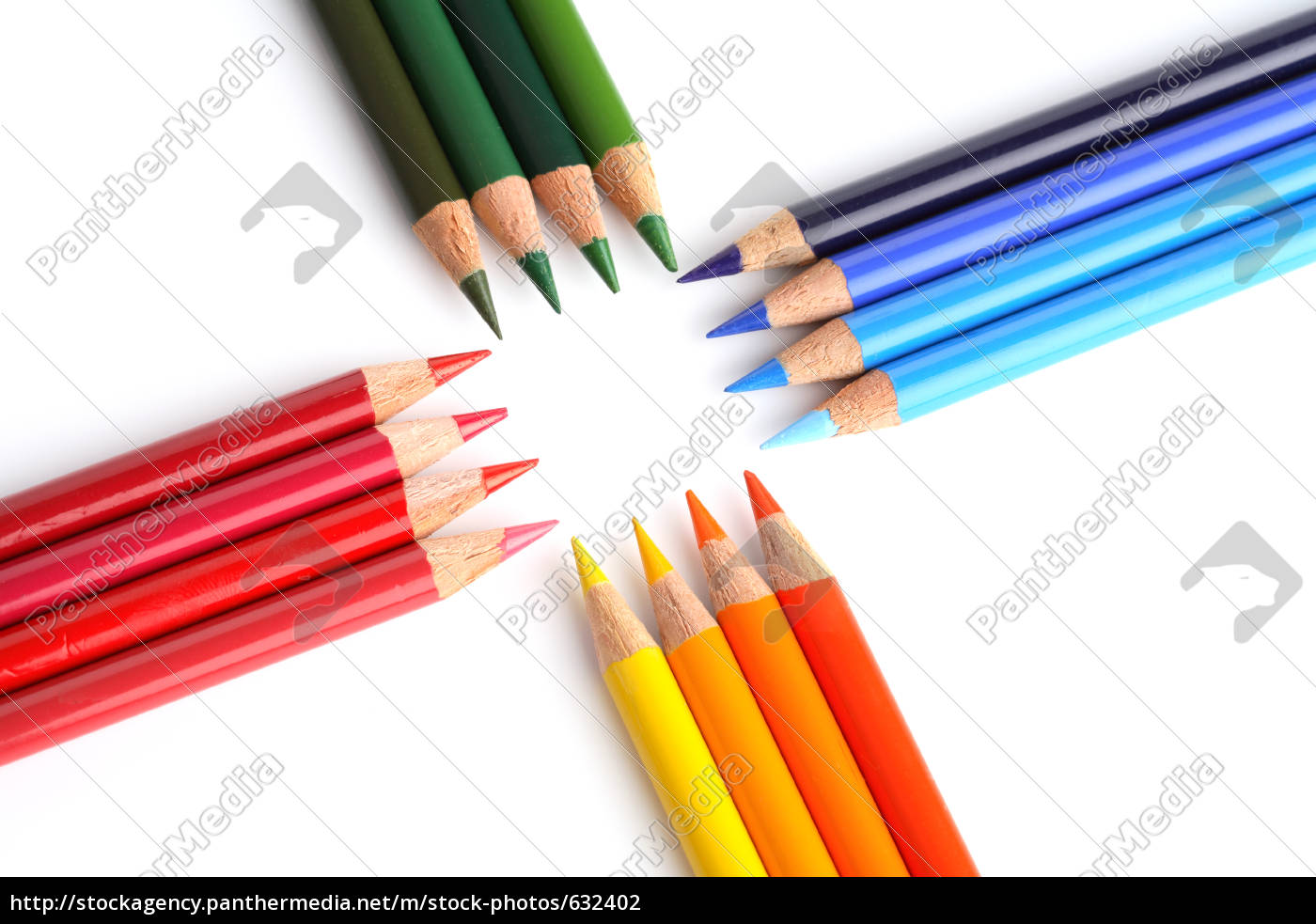 colored, pencils - 632402