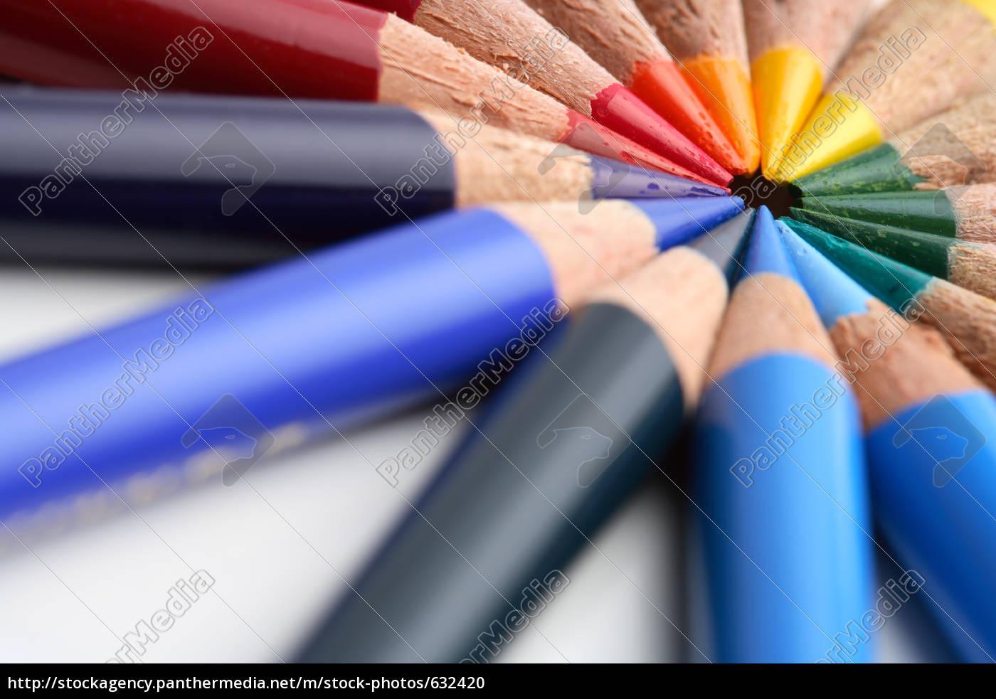 colored, pencils - 632420