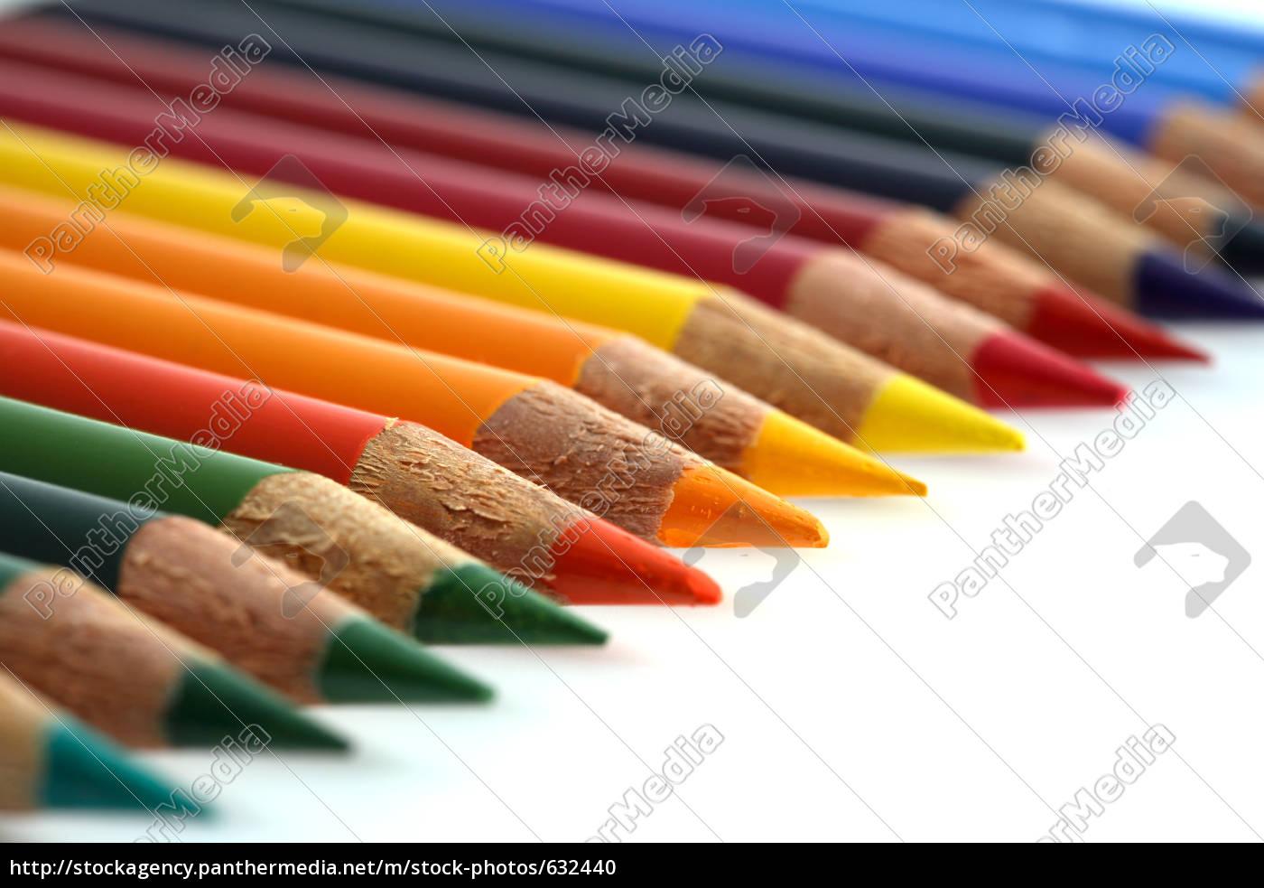 colored, pencils - 632440