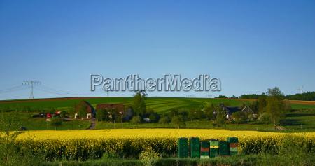 frühlling, cottages - 635778