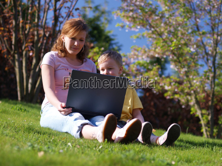 family, with, notebook - 637787