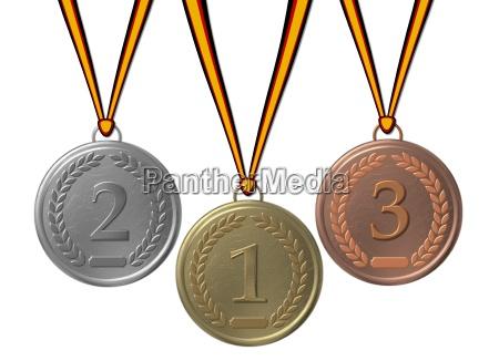 3, medals - 643899
