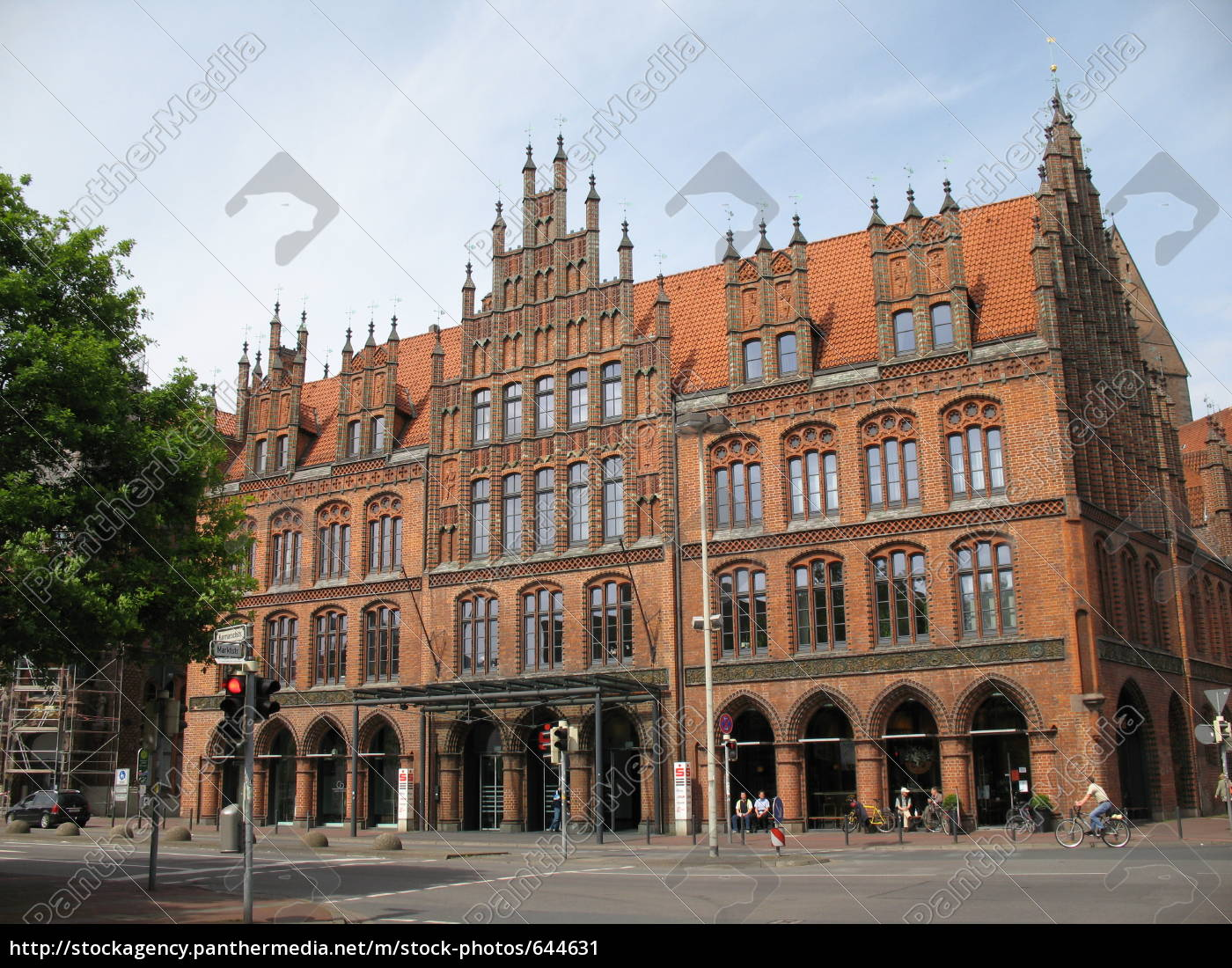 old, town, hall, hannover - 644631