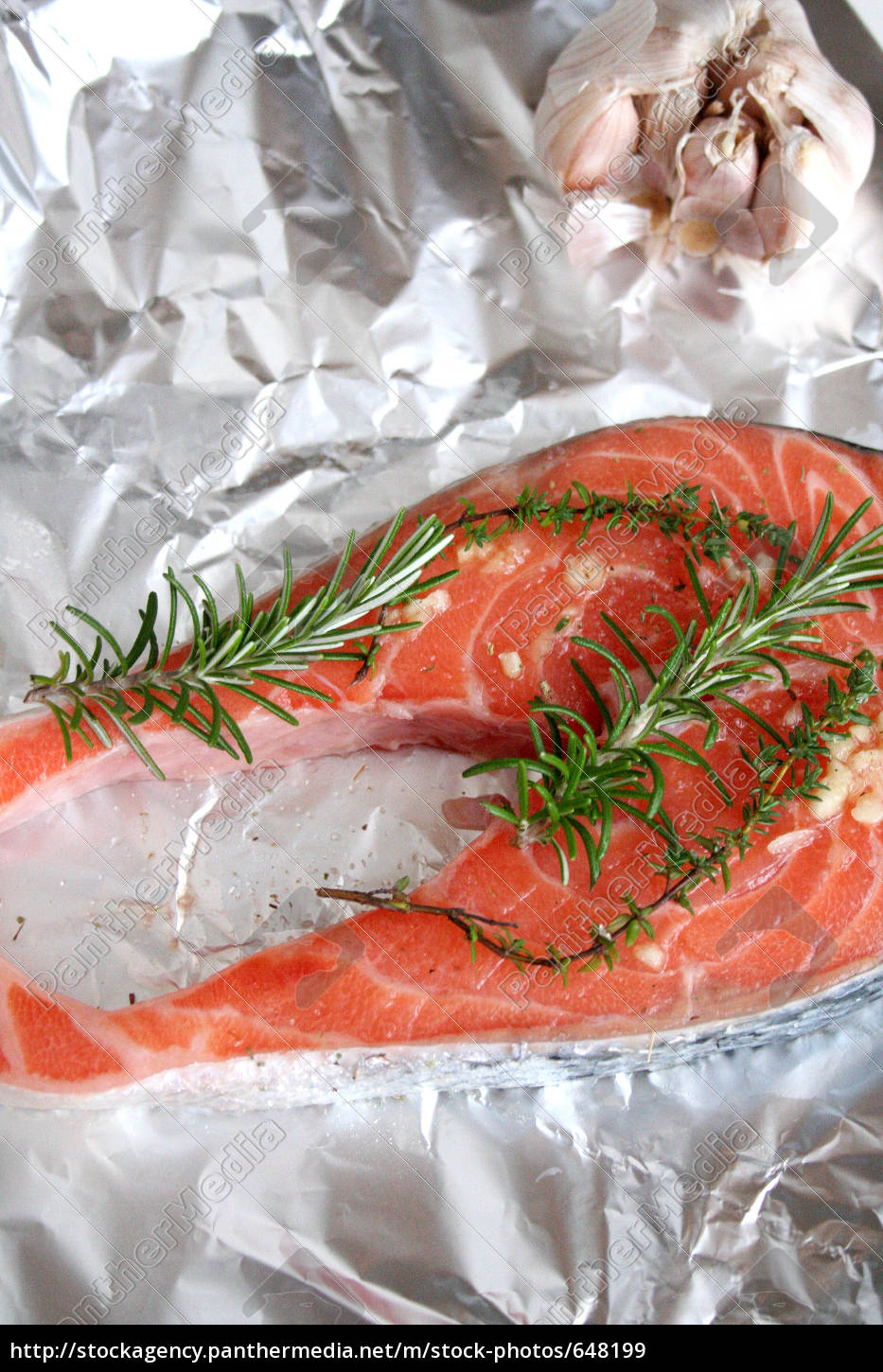 salmon, with, herbs - 648199