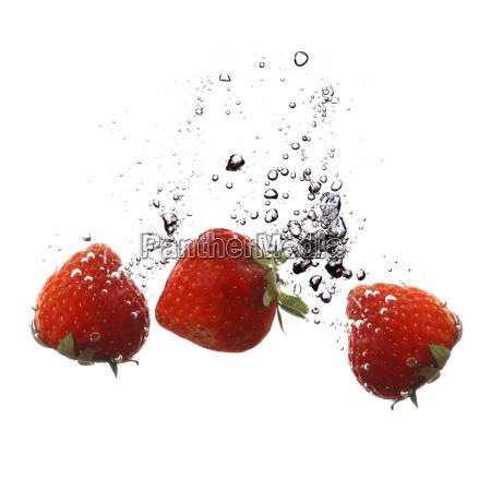 fresh, strawberries - 650879
