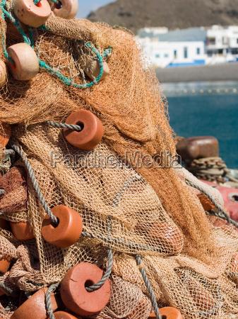 fishing, net, gran, canaria, i - 651640