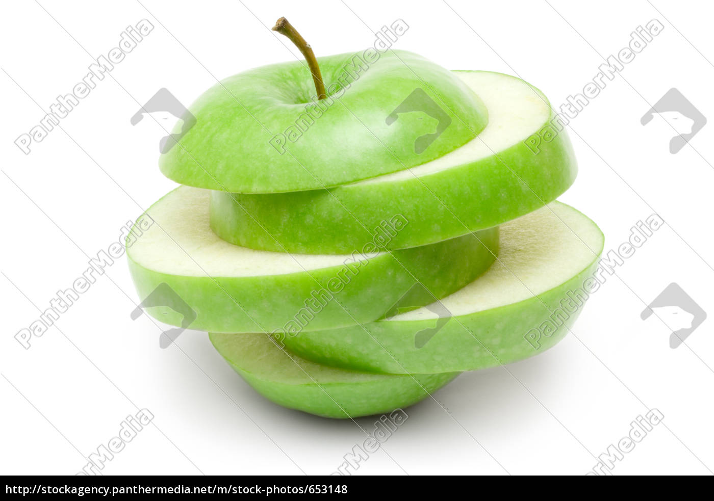apple, slices - 653148