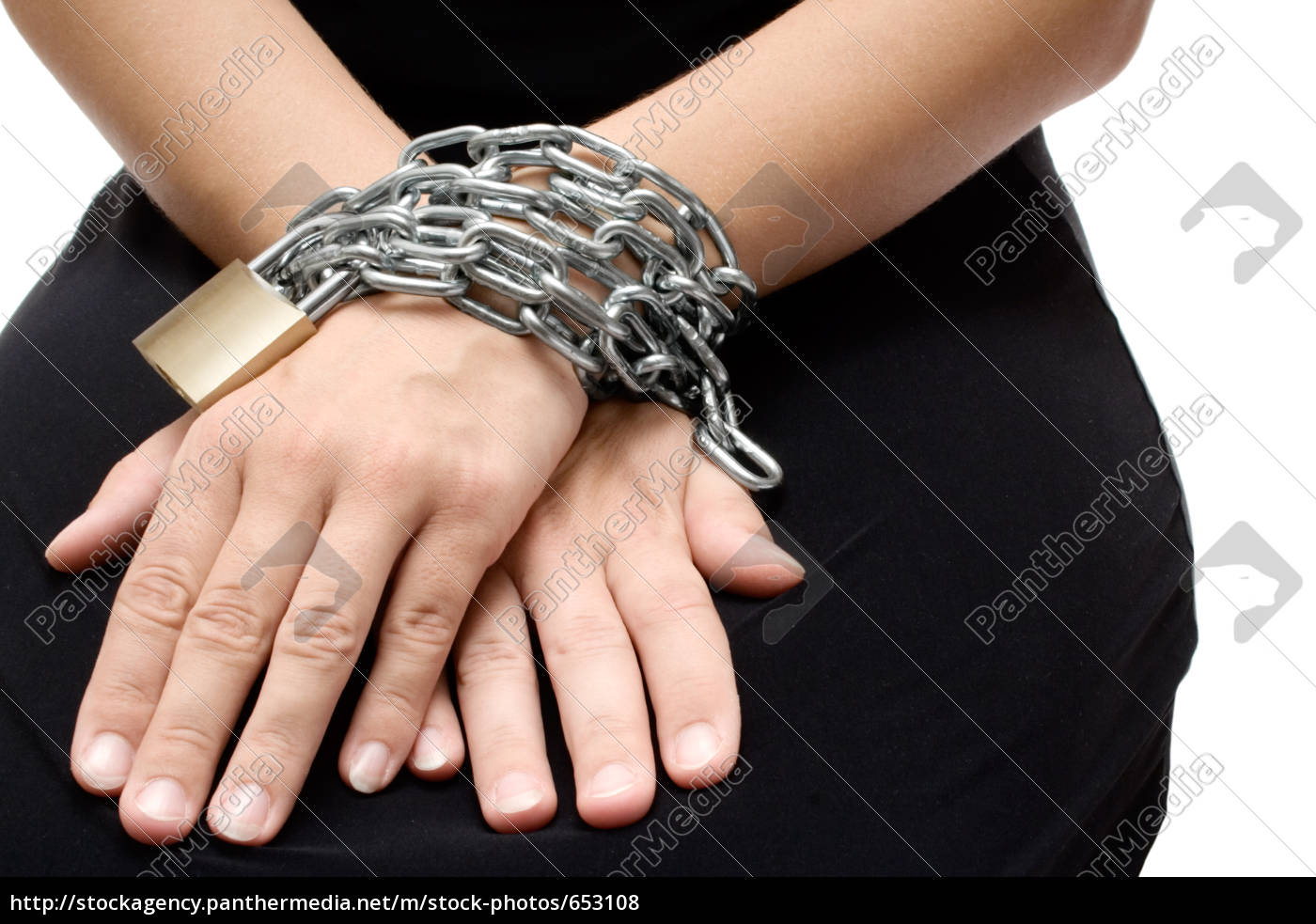 bound, woman, hands - 653108