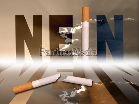 cigarette no
