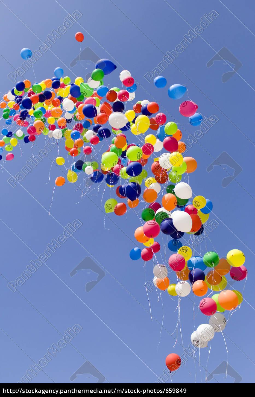 flying, balloons - 659849