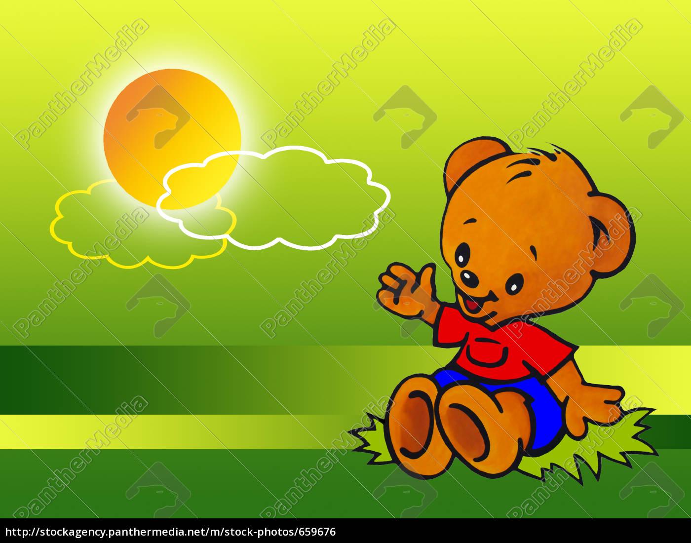 little, bear, greets, the, sun - 659676