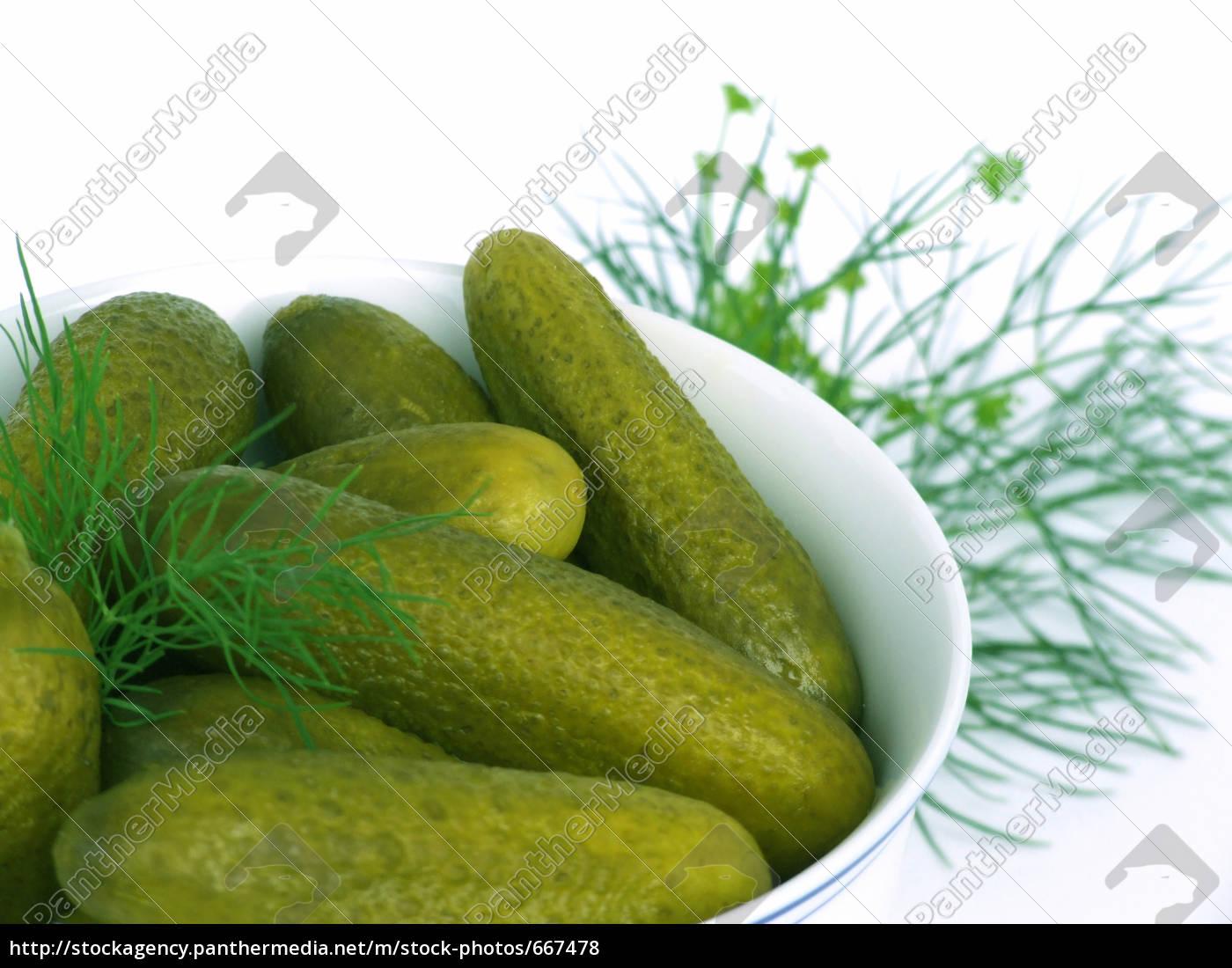 sour, cucumbers - 667478