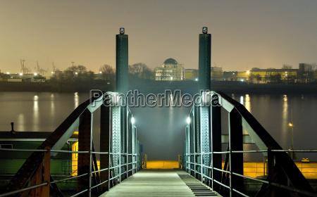 pier, in, haze - 669985