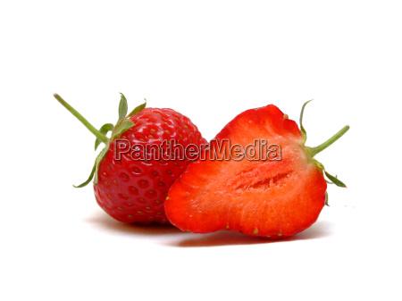 half, strawberries - 672118