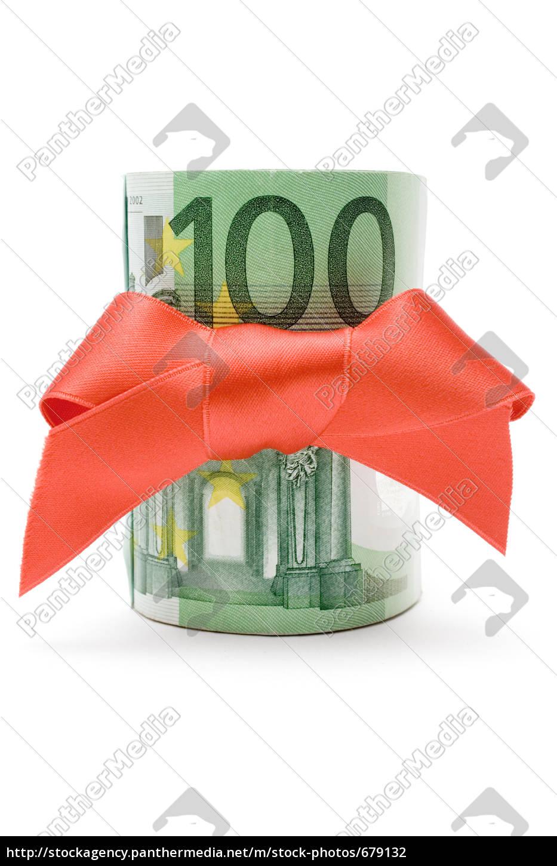 100, euro, money, gift - 679132