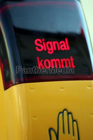 signal, comes - 680421