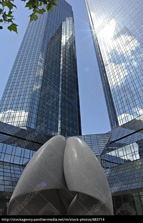 german, bank, frankfurt - 683714