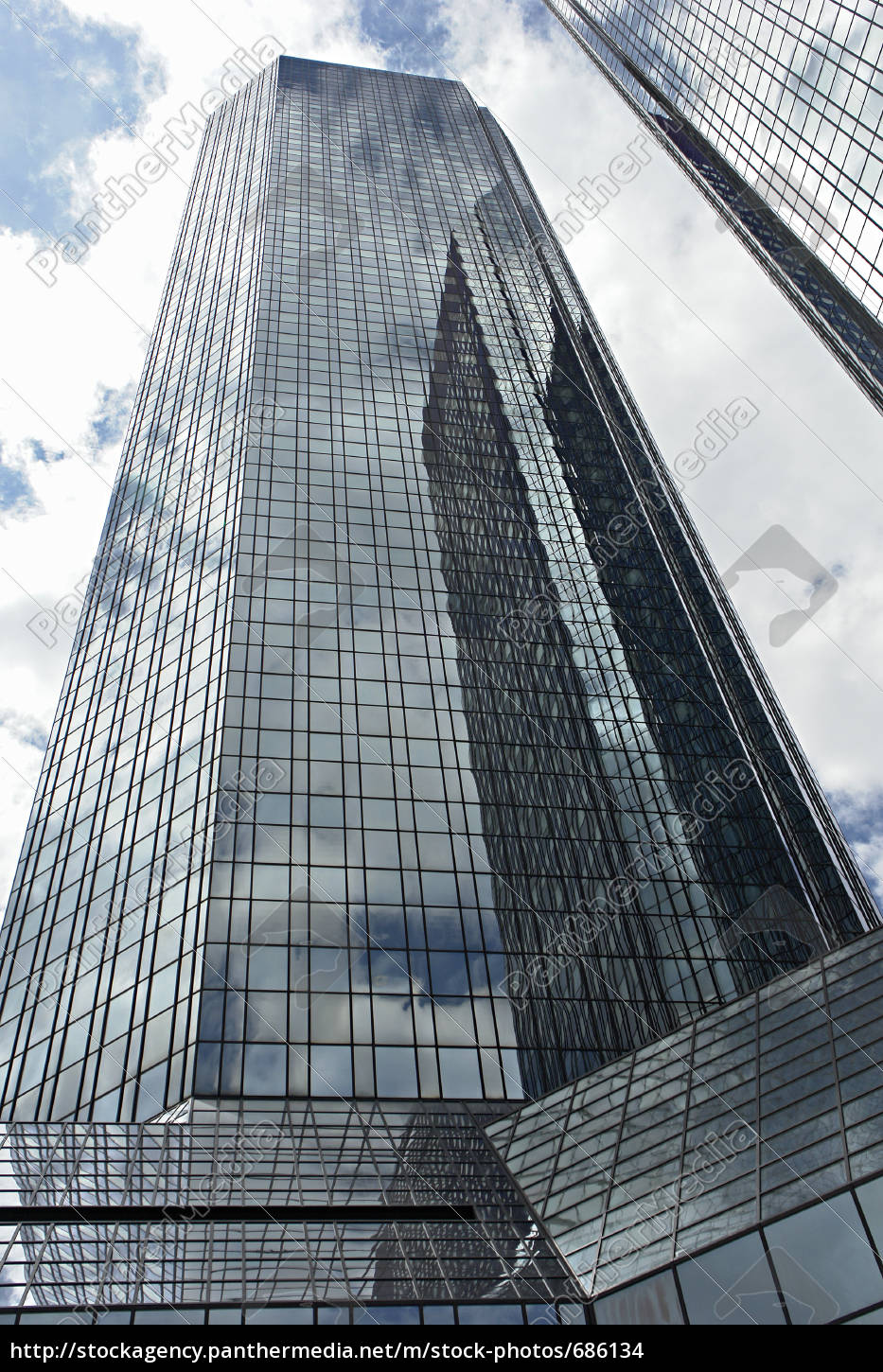 deutsche, bank, towers, frankfurt - 686134