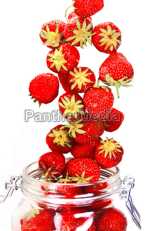 strawberry glass