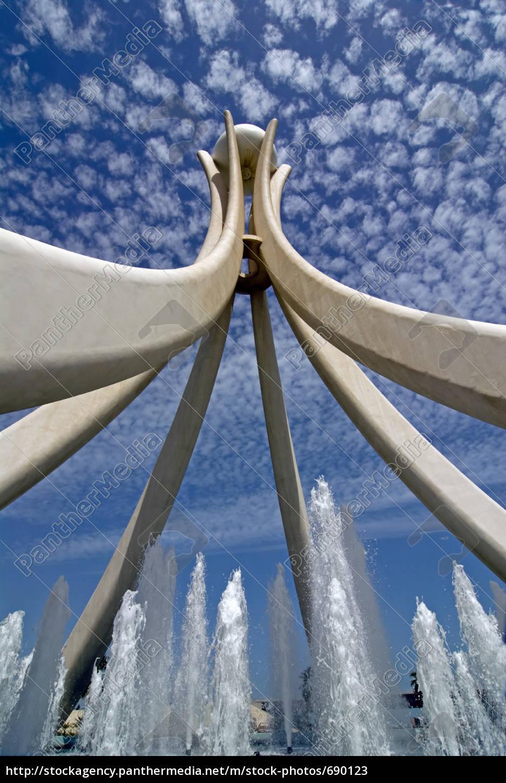 bahrain, pearl, monument - 690123