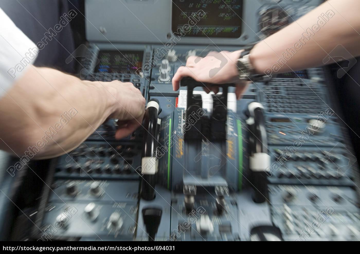 airplane, cockpit - 694031