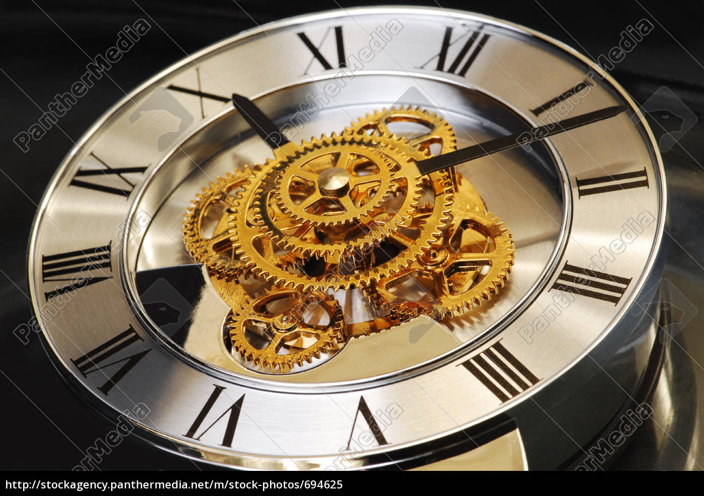 golden, watch - 694625