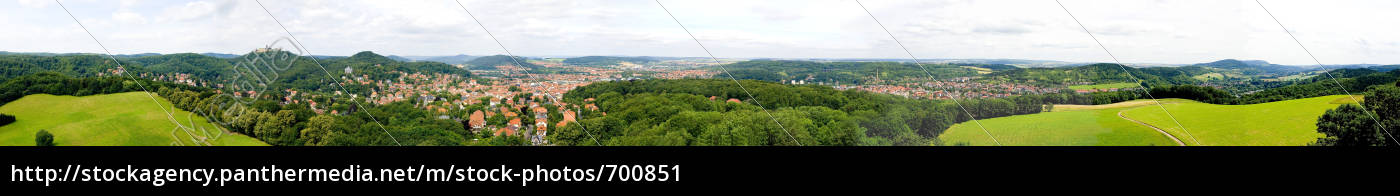 eisenach, panorama - 700851