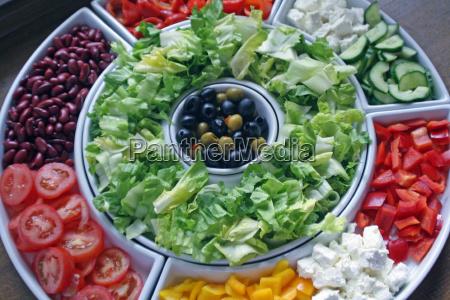 salad, bowls - 700823