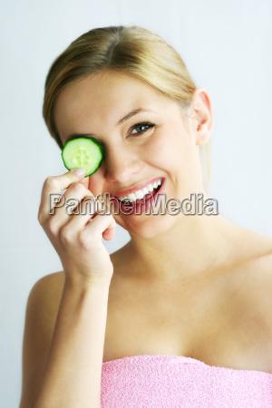 wellness, beauty, cucumber, mask - 704895