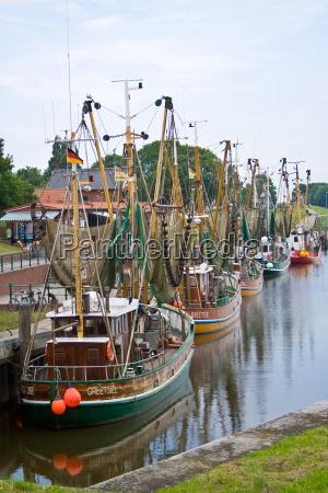 shrimp, boat, fleet - 708089
