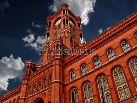 red town hall berlin