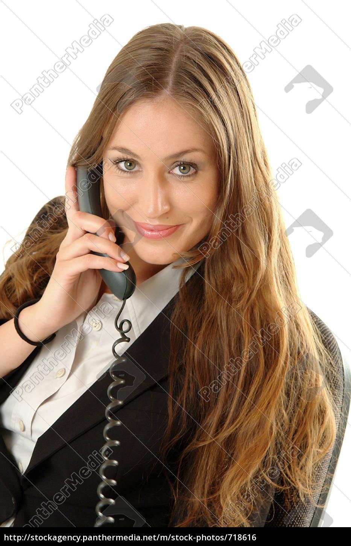 beautiful, telephone, operator - 718616
