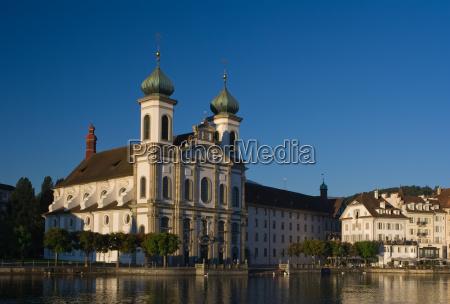 jesuitenkirche, lucerne, switzerland - 718890