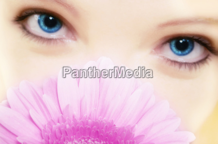 beauty flower eye