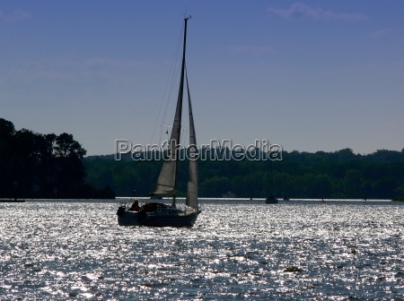 sailing on the wannsee berlin
