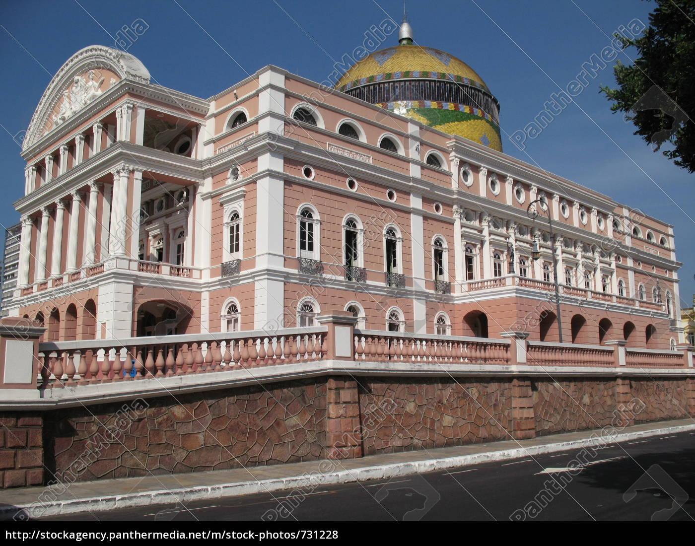 amazonas, theatre, opera, manaus - 731228