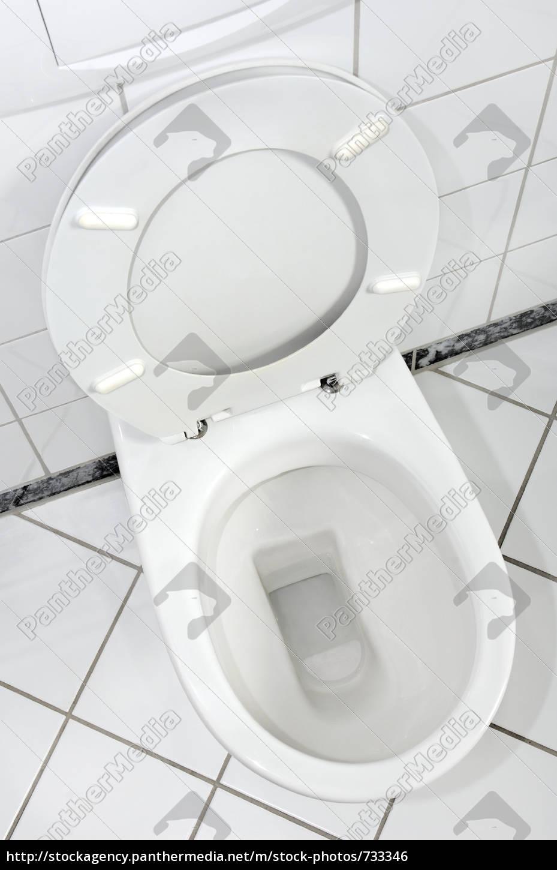 white, toilet, bowl - 733346