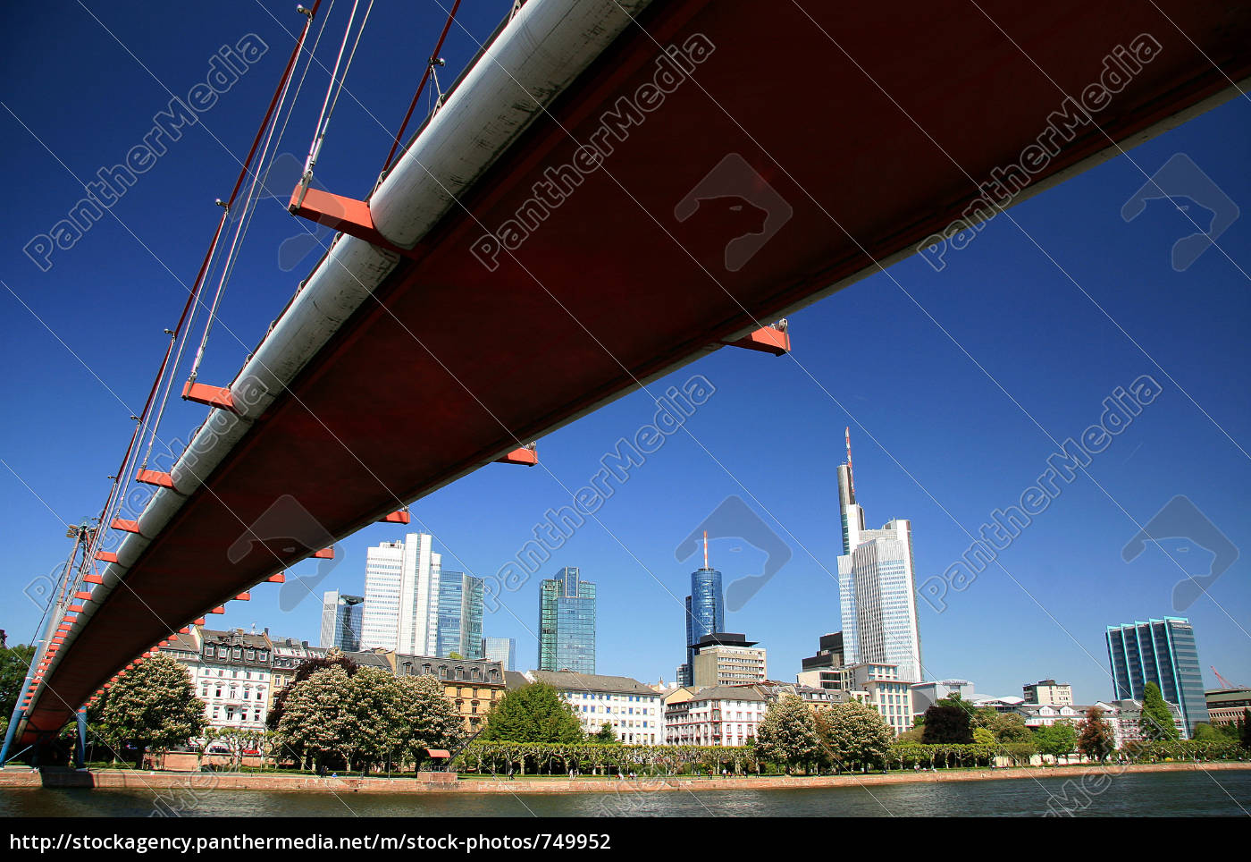 bottom, holbeinsteg, view, of, skyscrapers - 749952