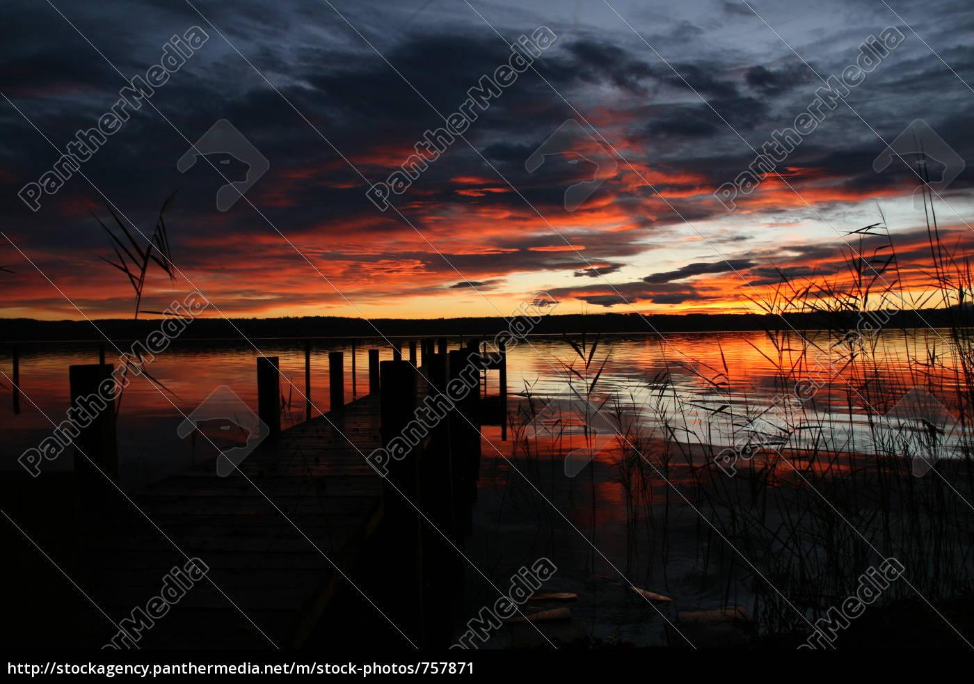 sunrise, on, the, lake - 757871