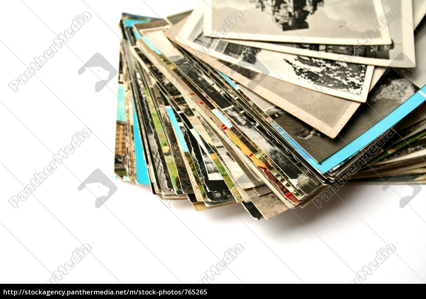 old, postcards - 765265