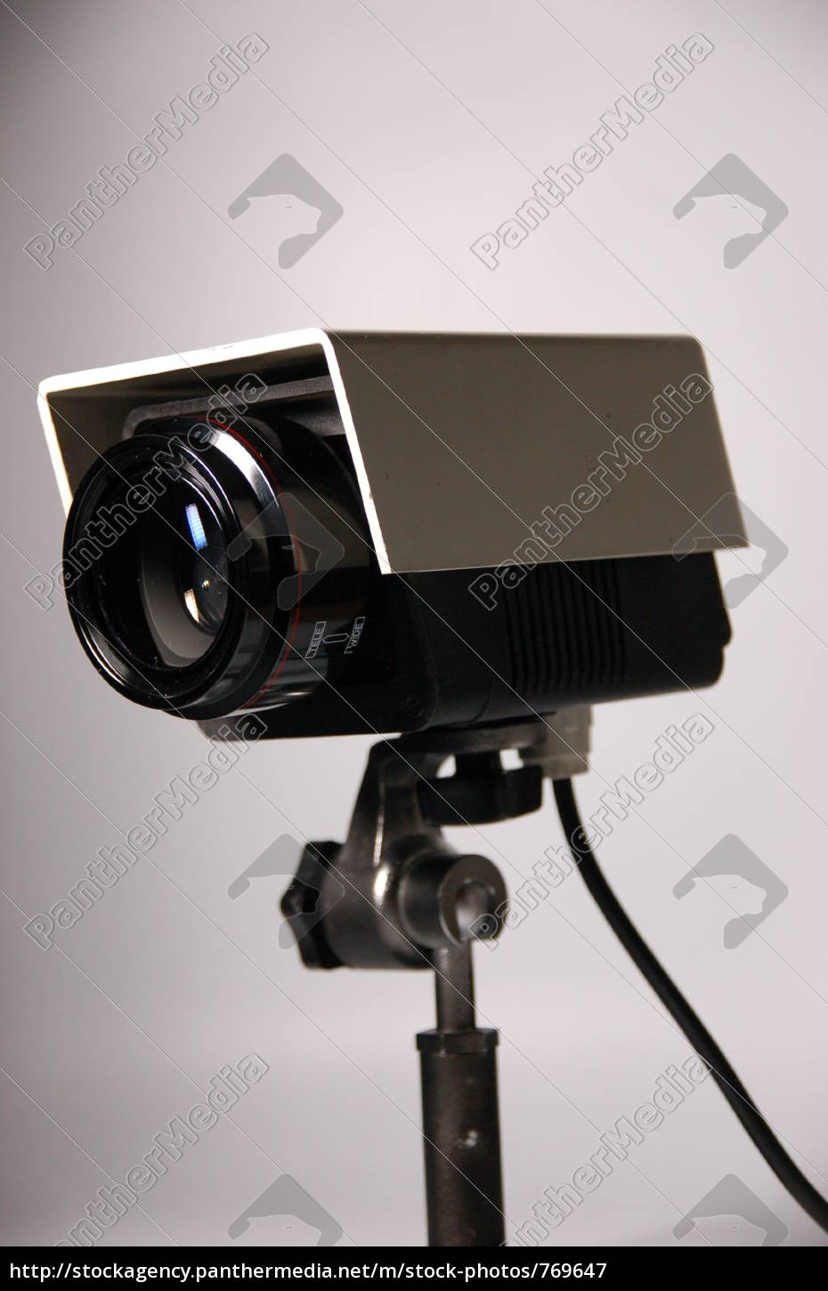 surveillance, camera, tall, high - 769647