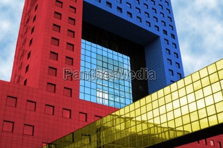 gatehouse, frankfurt, (colorful) - 771463