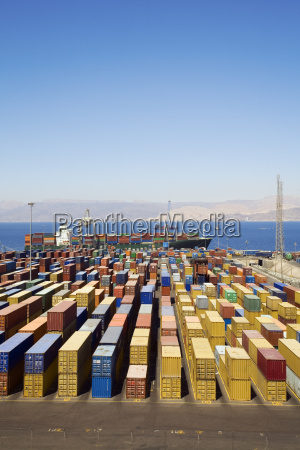 panoramic, view, of, containters, in - 773303