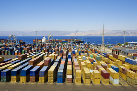 panoramic, view, of, containters - 773313