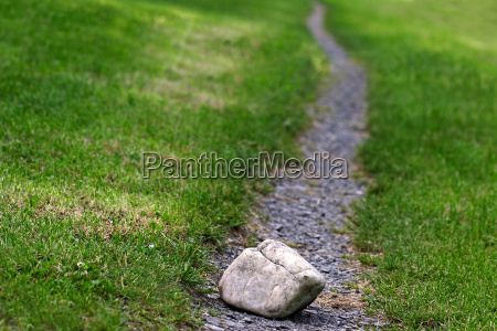 stone in the way